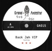 Cuttle - Back Jah  VIP / Malleus - No Harm VIP (Grand Ancestor) 12""